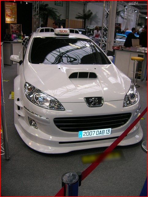 peugeot 407 taxi 4 au paris tuning show. Black Bedroom Furniture Sets. Home Design Ideas