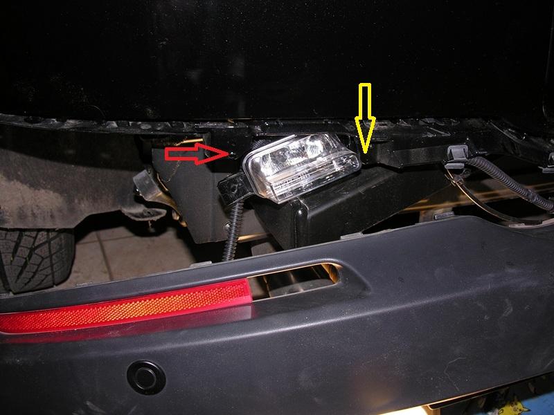 Tutoriel remplacer ampoules des feux recul par des leds for Changer ampoule garage