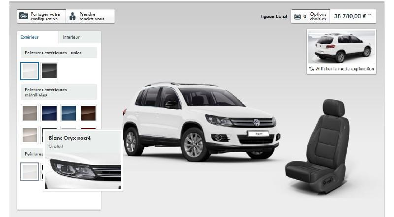 peinture nacr e blanc oryx volkswagen tiguan forum. Black Bedroom Furniture Sets. Home Design Ideas
