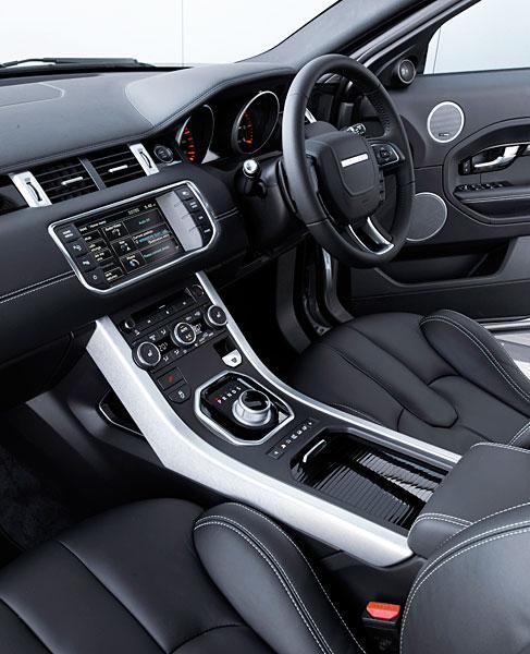 SUV Compact Chez Land Rover : Evoque